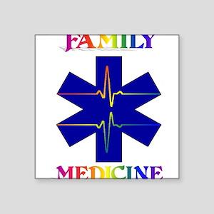 Family Medicine Rectangle Sticker