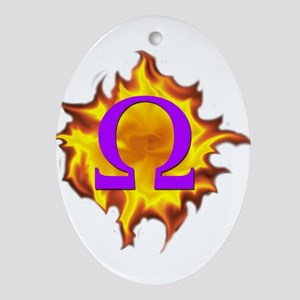 We are Omega! Ornament (Oval)