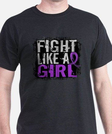 Fight Like a Girl 31.8 Sarcoidosis T-Shirt
