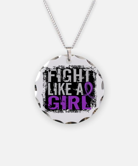 Fight Like a Girl 31.8 Sarcoidosis Necklace
