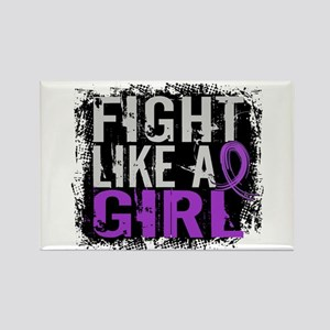 Fight Like a Girl 31.8 Sarcoidosis Rectangle Magne