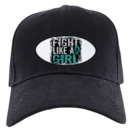 Fight Like a Girl 31.8 PKD Black Cap