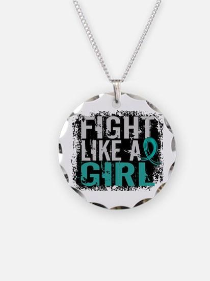 Fight Like a Girl 31.8 PKD Necklace