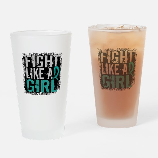 Fight Like a Girl 31.8 PKD Drinking Glass