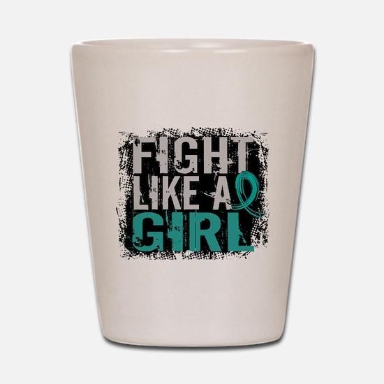 Fight Like a Girl 31.8 PKD Shot Glass