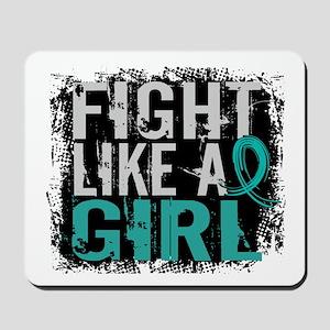 Fight Like a Girl 31.8 PKD Mousepad