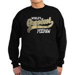 World's Greatest PeePaw Sweatshirt (dark)