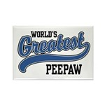 World's Greatest PeePaw Rectangle Magnet