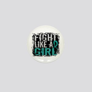 Licensed Fight Like A Girl 31.8 Ovaria Mini Button
