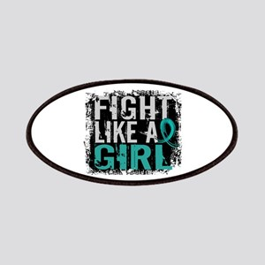 Licensed Fight Like A Girl 31.8 Ovarian Ca Patches