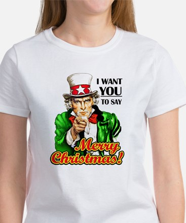 Uncle Sam - I Want You to say T-Shirt