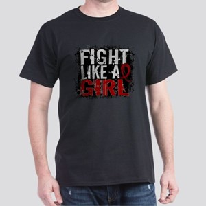 Licensed Fight Like a Girl 31.8 Multi Dark T-Shirt
