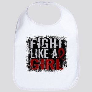 Licensed Fight Like a Girl 31.8 Multiple Myelo Bib