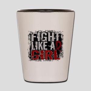 Licensed Fight Like a Girl 31.8 Multipl Shot Glass