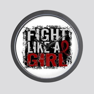 Licensed Fight Like a Girl 31.8 Multipl Wall Clock