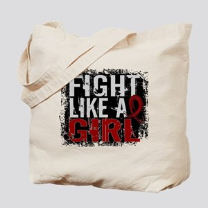 Licensed Fight Like a Girl 31.8 Multiple Tote Bag