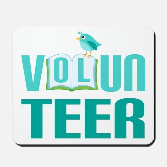 Volunteer Gift (Bird) Mousepad