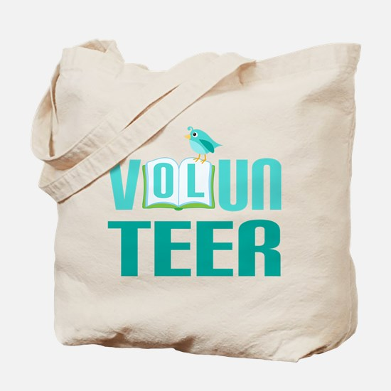 Volunteer Gift (Bird) Tote Bag
