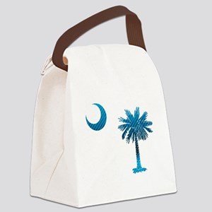 Palmetto & Cresent Moon Canvas Lunch Bag