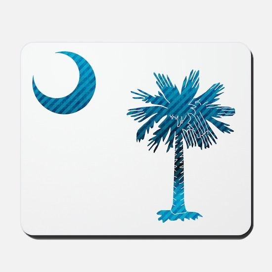 Palmetto & Cresent Moon Mousepad