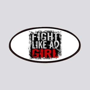 Licensed Fight Like a Girl 31.8 Mesothelioma Patch