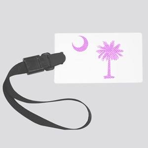 Palmetto & Cresent Moon Large Luggage Tag