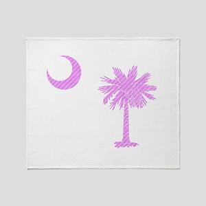 Palmetto & Cresent Moon Throw Blanket