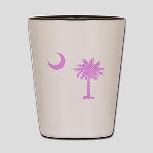 Palmetto & Cresent Moon Shot Glass