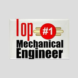 Top Mechanical Engineer Rectangle Magnet