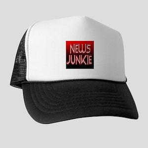 News Junkie Trucker Hat