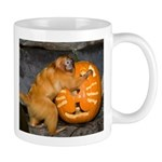 Tamarin With Pumpkin Mug