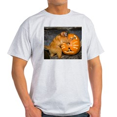 Tamarin With Pumpkin T-Shirt