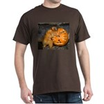 Tamarin With Pumpkin Dark T-Shirt