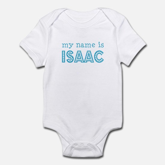 My name is Isaac Infant Bodysuit