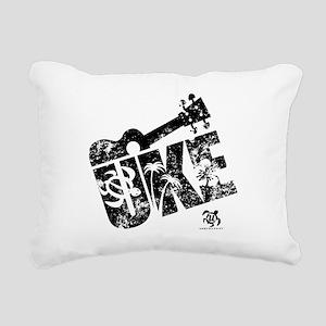 The Uke XL Rectangular Canvas Pillow