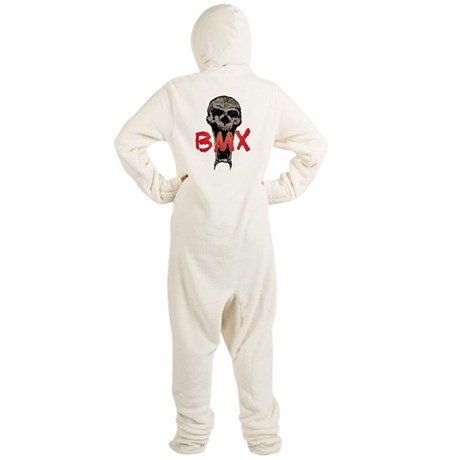 BMX skull Footed Pajamas