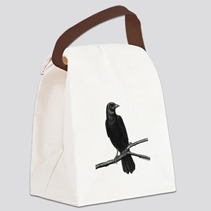 Black Crow ~ Canvas Lunch Bag