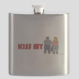 Kiss My Butt Flask