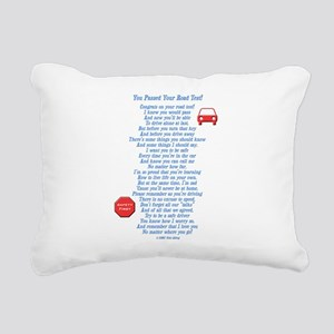 You Passed Road Test Rectangular Canvas Pillow