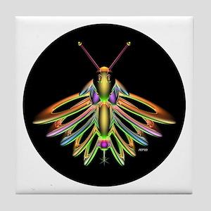 Firefly Tile Coaster
