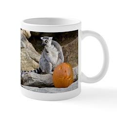 Lemur & Pumpkin Mug