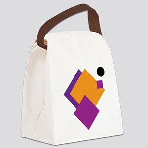 Playful cubes Canvas Lunch Bag