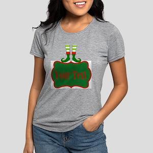 Personalizable Christmas  Womens Tri-blend T-Shirt