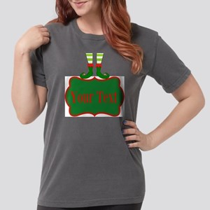 Personalizable Christm Womens Comfort Colors Shirt
