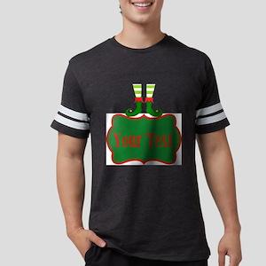 Personalizable Christmas Elf F Mens Football Shirt
