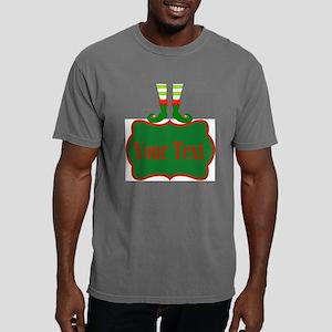 Personalizable Christmas Mens Comfort Colors Shirt