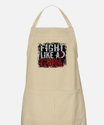 Licensed Fight Like a Girl 31.8 Head/Neck Ca Apron
