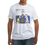 Discount Airfare Issues Fitted T-Shirt