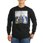 Discount Airfare Issues Long Sleeve Dark T-Shirt