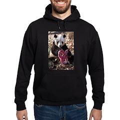 Panda With Treat Hoodie (dark)